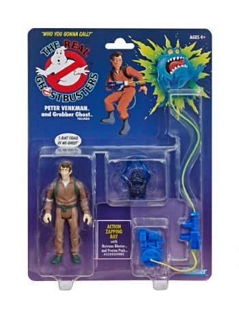 Ghostbusters - The Real Ghostbusters Animated Kenner Classics Peter Venkman Action Figure